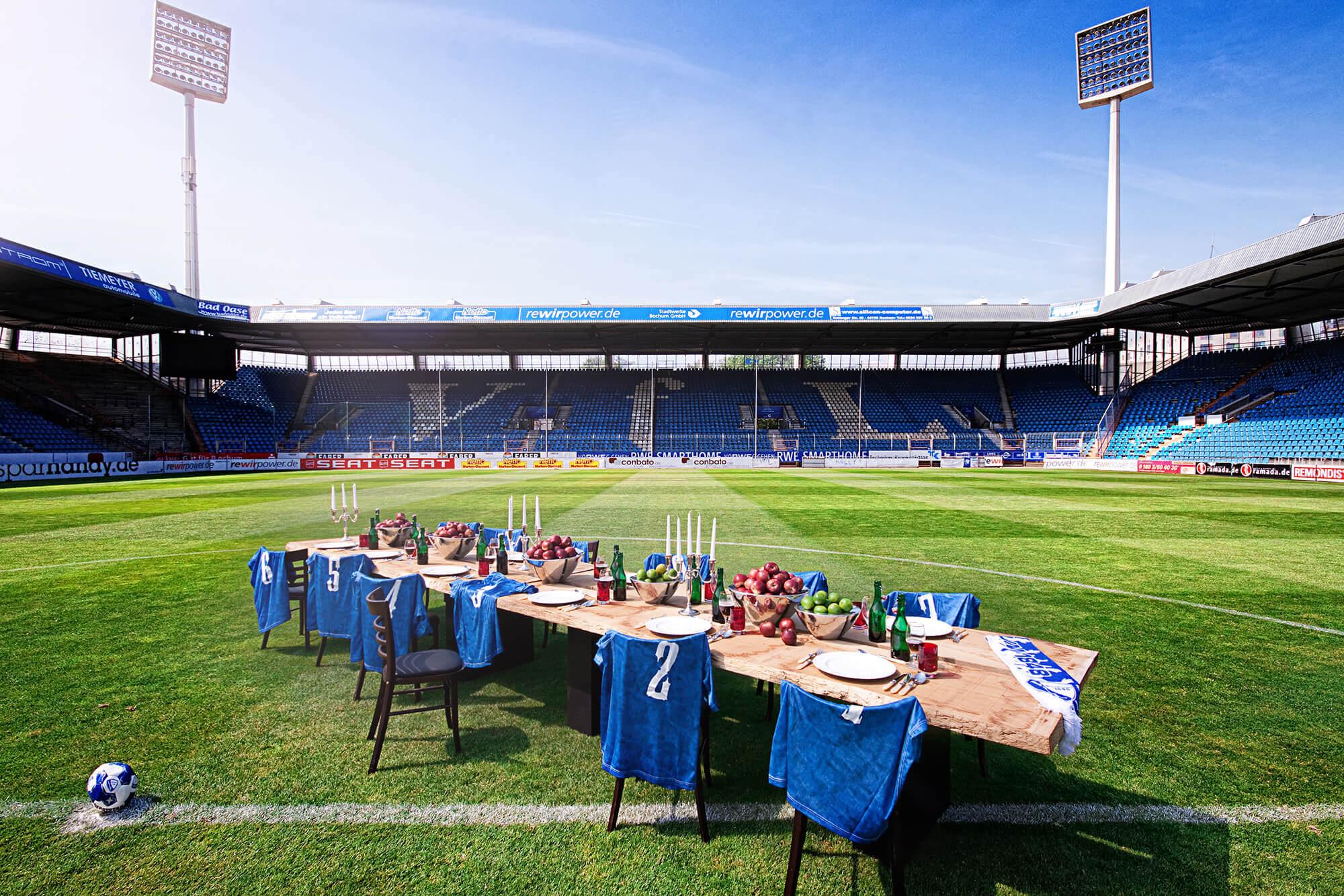 Ortsbild Stadion VfL Bochum - Handwerk