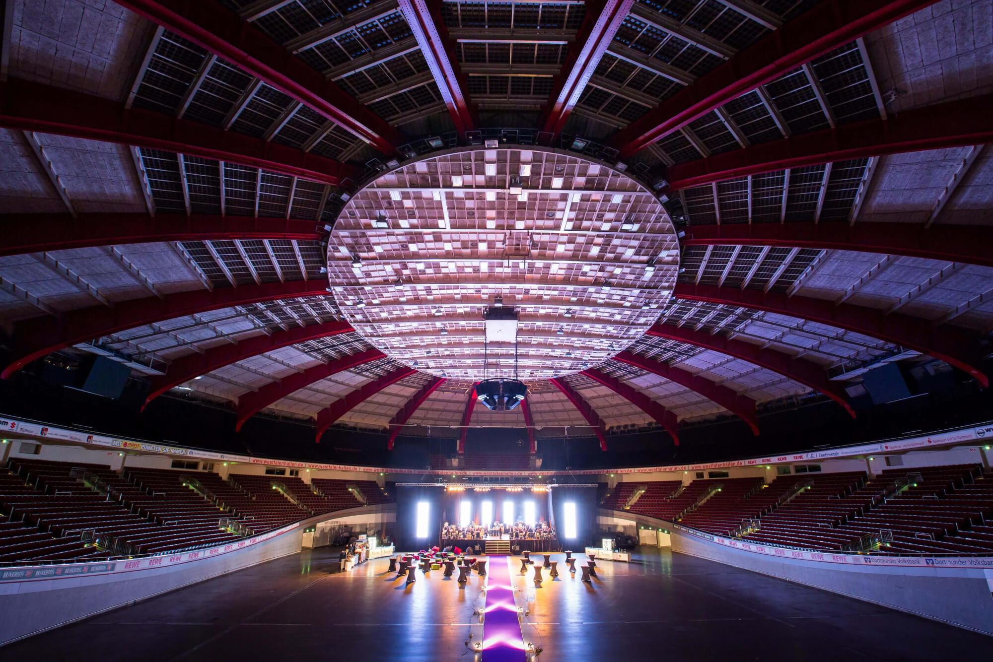 Ortsbild Westfalenhalle Dortmund - Handwerk